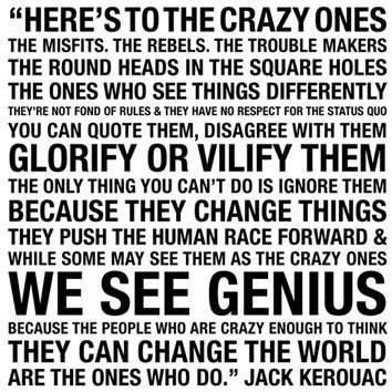 kerouac: Life Quotes, Jackkerouac, Food For Thoughts, Crazy People, Life Mottos, Jack Kerouac Quotes, Jack O'Connel, Steve Job, The One