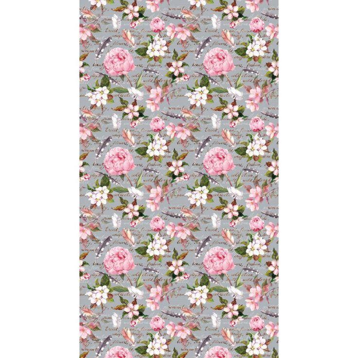 Virágos dekor függöny #függöny #rózsa #virág #lakberendezés