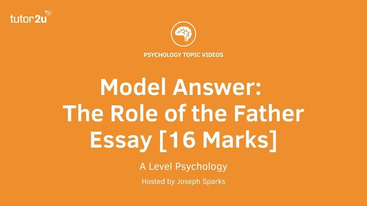 A level psychology essays