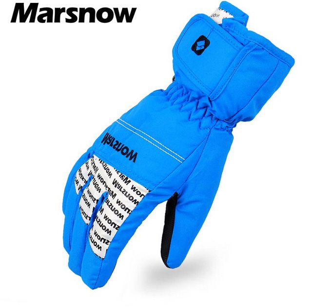 MARSNOW Unisex Winter Thermal Hiking Skiing Gloves Snowmobile Guantes Moto Gloves Guantes Snowboard