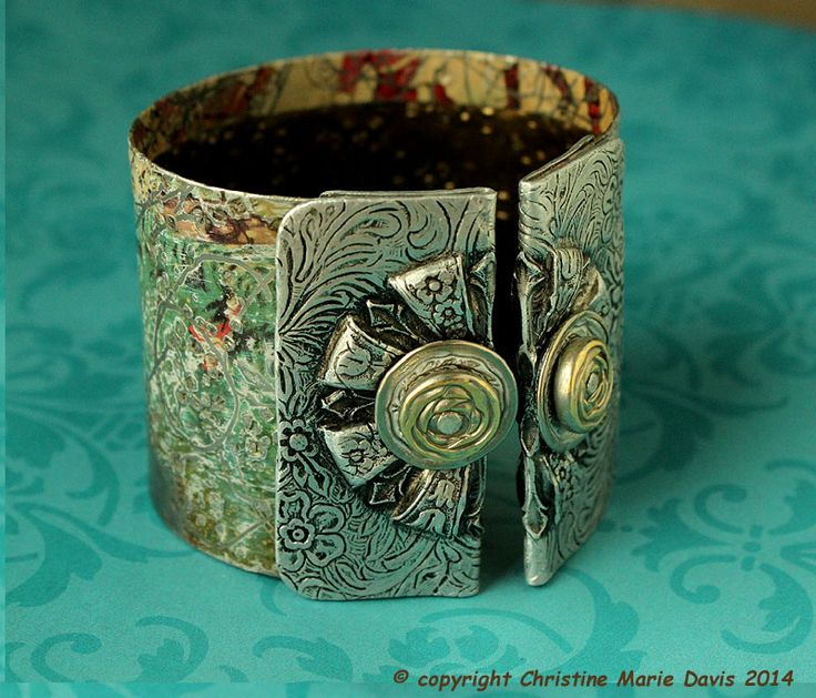how to make jewelry out of tin cans