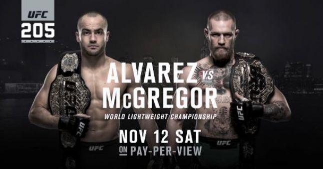 Live stream tonight's #UFC 205 fights!