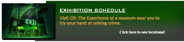 CSI: THE EXPERIENCE — Web Adventures   Teach students the process of forensic investigation and problem solving.