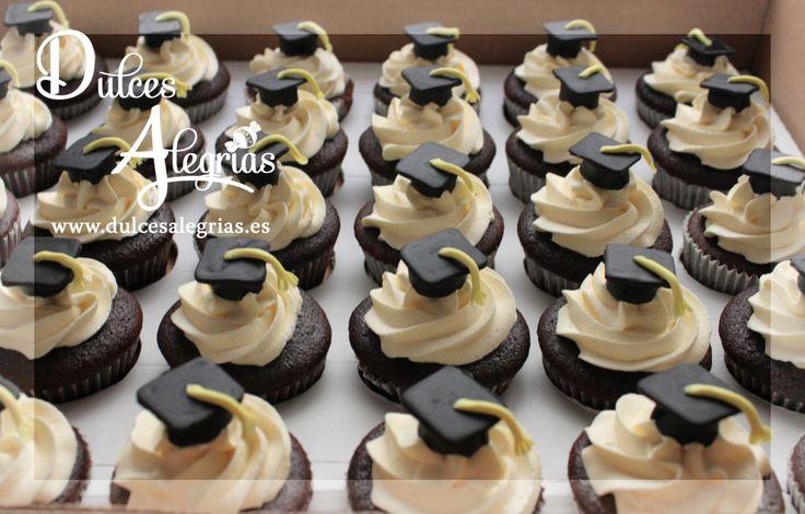 Cupcakes de graduaci n grad pinterest - Cupcakes tenerife ...