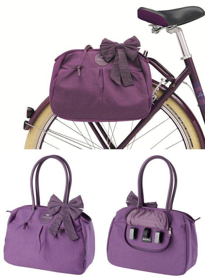 Handbag that converts into a bike pannier bag! #product_design