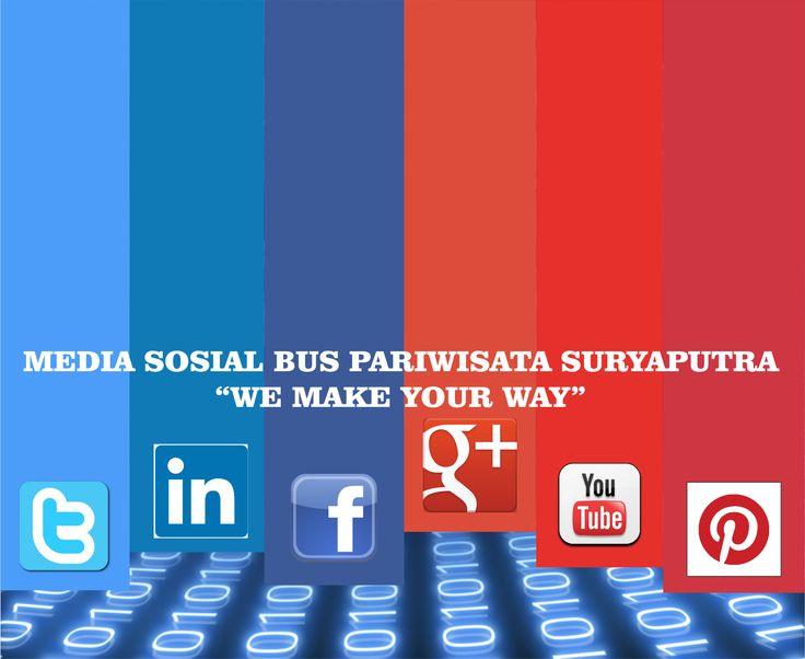 Seberapa Besar Keinginan Anda Terhubung Bersama Media Sosial, sebesar itulah kami ingin terhubung dengan Anda.
