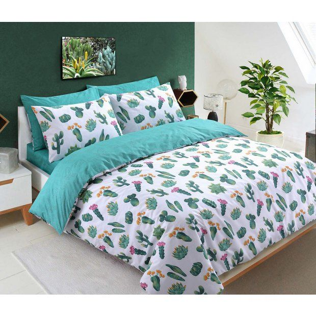 Buy Argos Home Tropical Cactus Bedding Set Single At Argos Thousands Of Products For Same Day Delivery Duvet Cover Sets Bedding Sets Tropical Bedding Sets