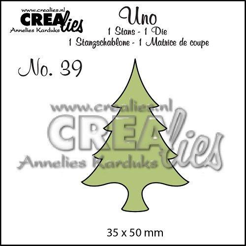 Uno no. 39 Kerstboom dun / Christmas tree thin