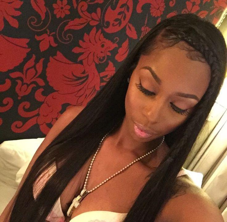 Toya wright ombre hair