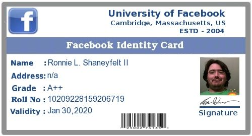 Check my results of Create fb identity card Facebook Fun App by clicking Visit Site button