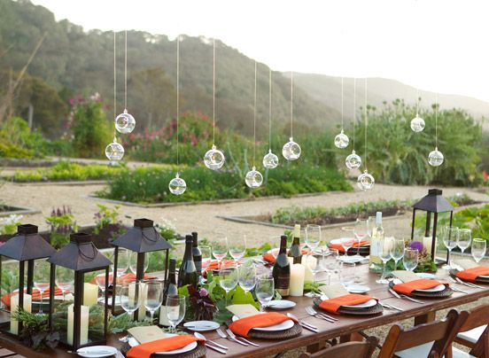 Carmel Valley Ranch Gallery Organic Garden Reception