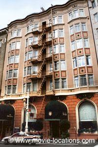 Vertigo filming location: York Hotel, now the Hotel Vertigo, Sutter Street, San Francisco