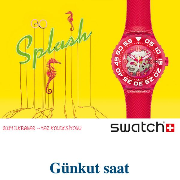 Swatch yaz koleksiyonu ile zamanınız keyifle aksın! http://goo.gl/FgozJa