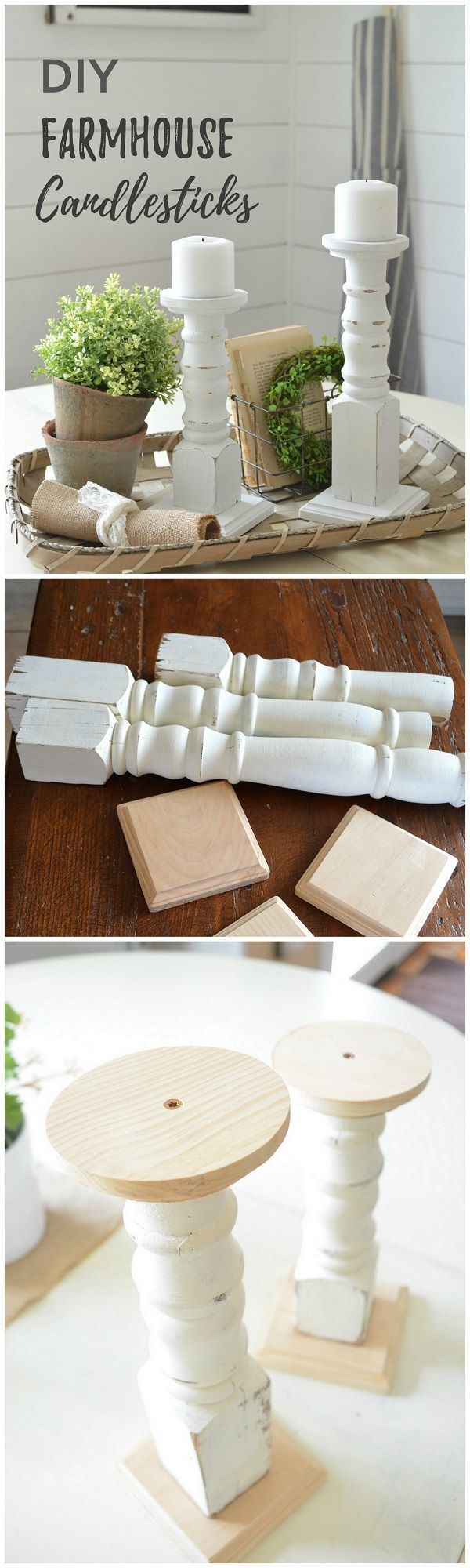 Trying these DIY modern farmhouse style projects. They involve reasonably priced materials so you don't have to worry about the budget. They are also fairly easy to complete.