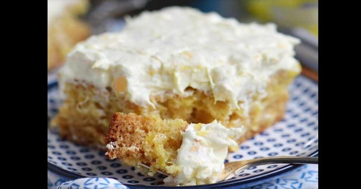 Le plus parfait des petits gâteaux à l'ananas!