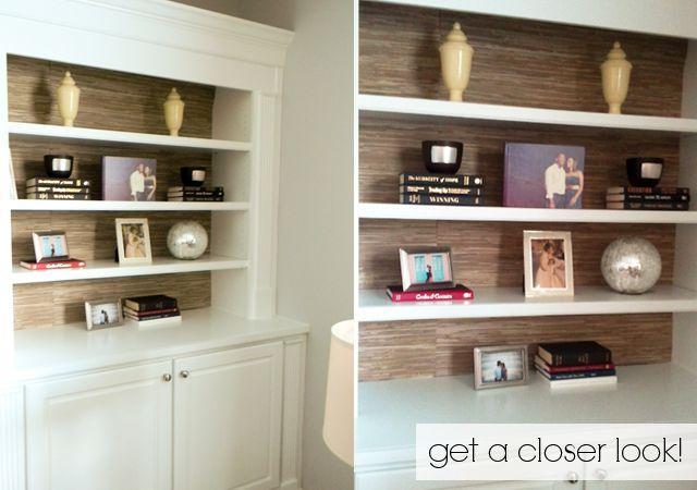 add grasspaper to bookcases