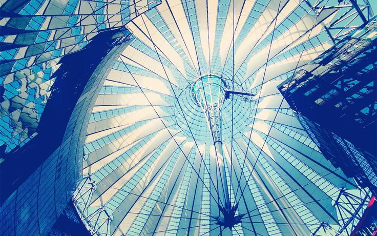 The Sony Center is a Sony-sponsored building complex located at the Potsdamer Platz.