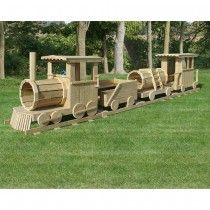 Amish Made 45 ft Lengthy Wood 6 Piece Practice Playground Set