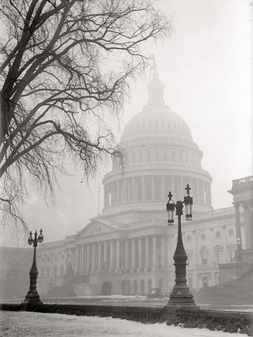 Washington Winter, 1917 (via Shorpy Historical Photo Archive)