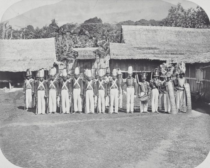 The Sultan's guard (1900-1920)