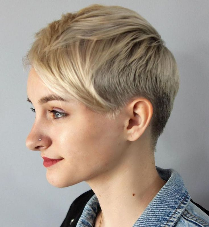 blond short hair styles 60 pixie haircuts femininity and practicality 5596 | 5596ca8559cdc7e6998a1796b1376070