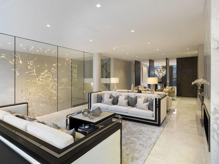 the living room area ashberg house chelsea designed by morpheus london - Chelsea Interior Designers