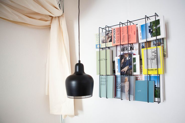 The bookcase from Selekkt designed by Alex Valder instantly sheers up the space!