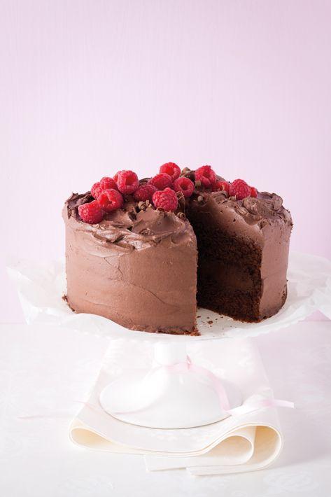 Chocolate cake(Raspberry Chocolate Muffins)