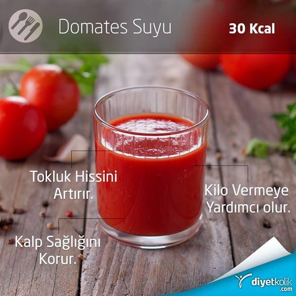 Sürekli acıkmaktan şikayetçi misin? Domates suyu seni tok tutmaya yardımcı olacak ;) #diyet #spor #öneri
