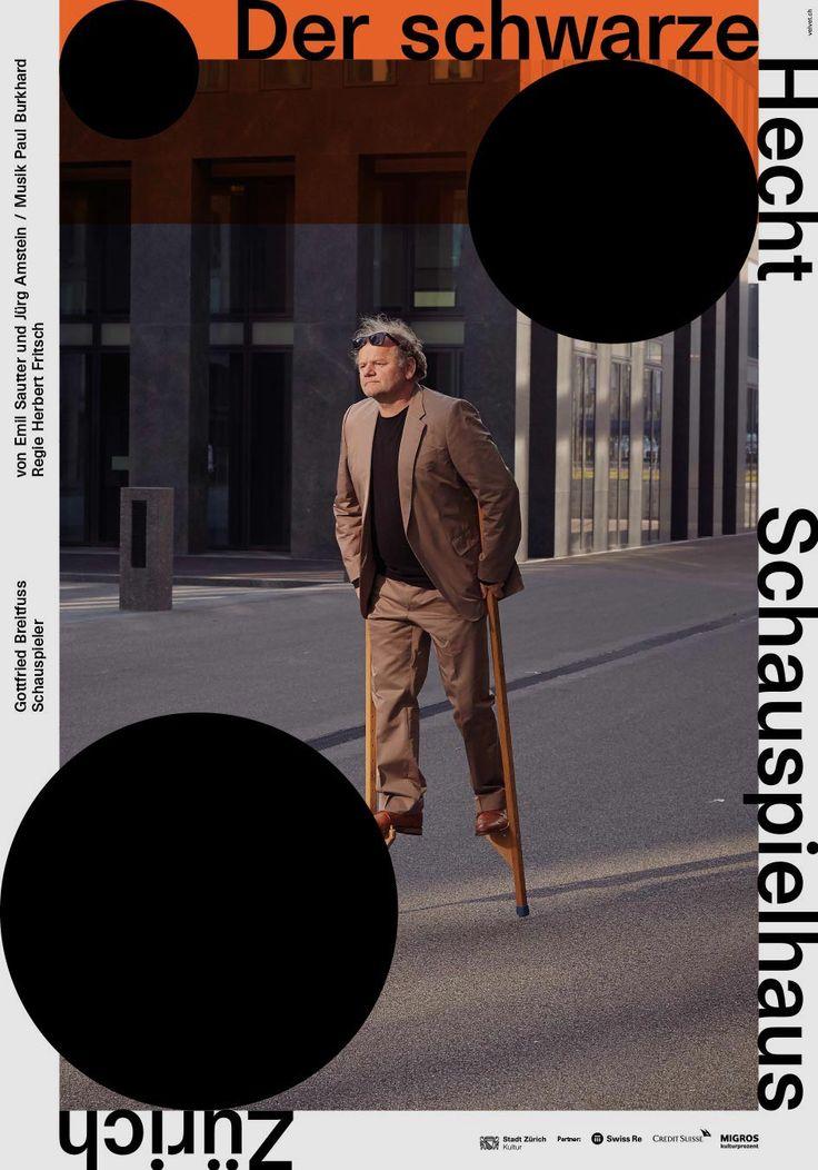 Werbung, Grafik und Web - Schauspielhaus Zürich -