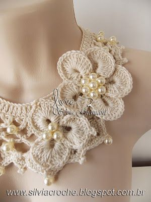 Beautiful necklace collar.  Website is international, so you would need to be able to translate,but it's so pretty