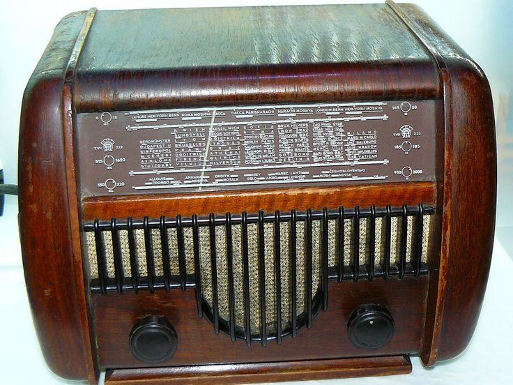 30's vintage antique tube valve wooden body radio Hungarian Orion w bakelite prt | eBay