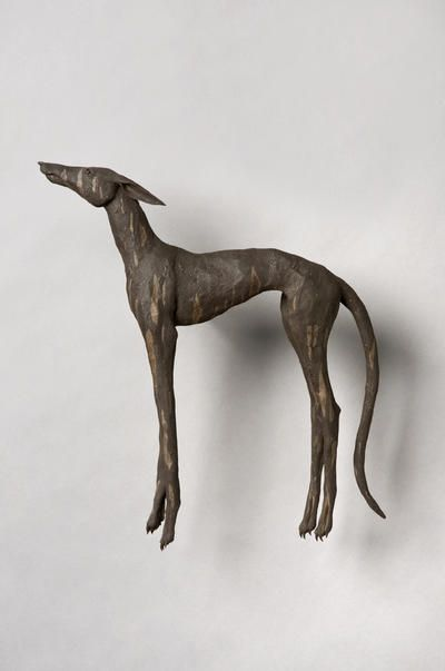 Catrin Howell. Hound 2013 wall mounted, ceramic