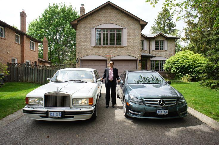 Albert Lai Rolls Royce Silver Spur III + Mercedes Benz C350 4Matic AMG Trim