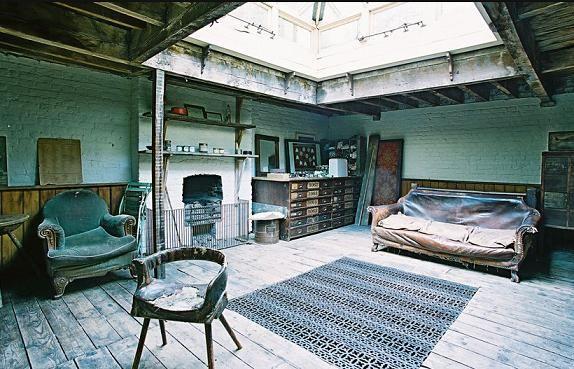 Beautiful Rustic Interiors in Spitalfields London | Home Interior Design Themes