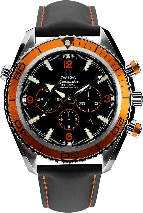 Omega Seamaster Planet Ocean - Swiss Watches | Raddest Men's Fashion Looks On The Internet: http://www.raddestlooks.org