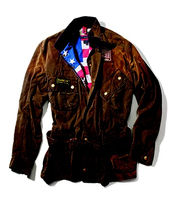 God Save McQueen: Barbour Motorcycle Jacket ~ Reminds me of Patrick