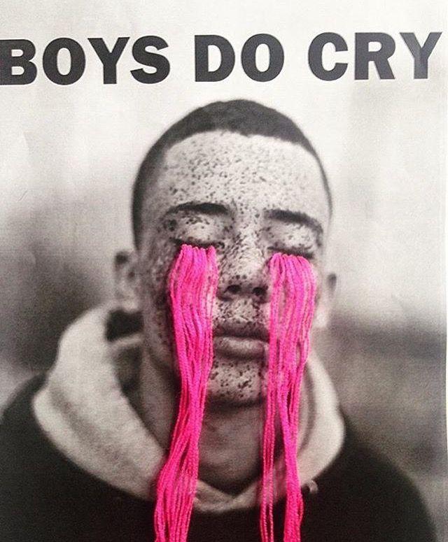 BOYS DO CRY // instagram credit: @villanaart and @rosie_matheson