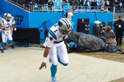 The Carolina Panthers playoff push started with a bang!