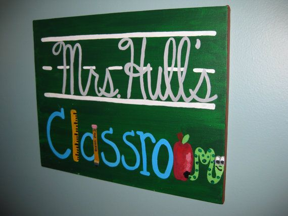 Cute idea! I like the chalkboard look with the lines and the various graphics as letters