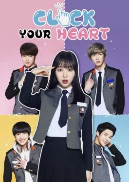 """Click Your Heart. Kdrama. A lil' web drama to introduce FNC Entertainments trainees for their next boy group. This was so exciting because it was like an otome game where you pick your dude. Like something happens and it's like """"Pick Choice A or B"""". I watched all the routes, but Chani's was my first because he was my first pick. After watching this, I looked into SF9 (the band they become). :)"""