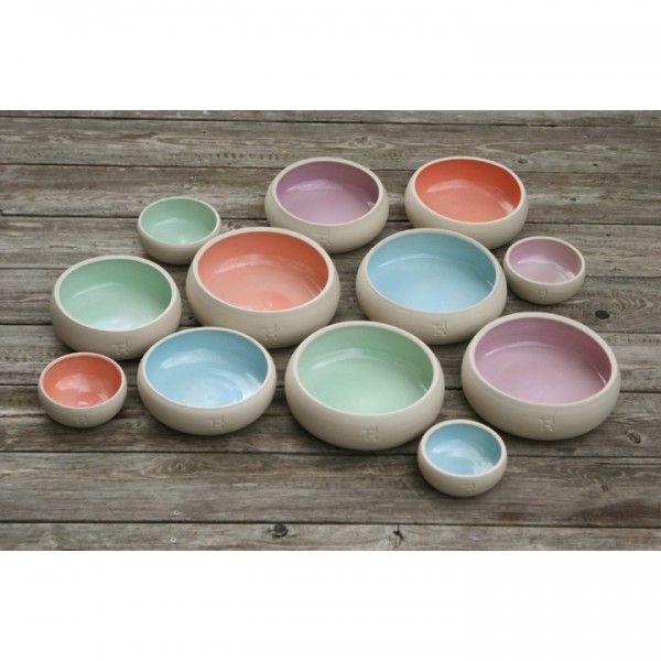 Fressnapf aus Keramik, 6 Farben | Näpfe | Hunde | Haustierhelden