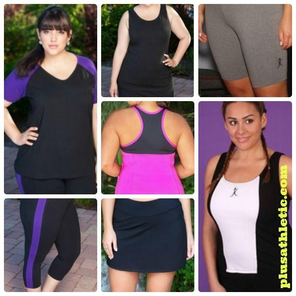 New Women's Plus Size Workout Wear Styles from AlwaysForMe.com