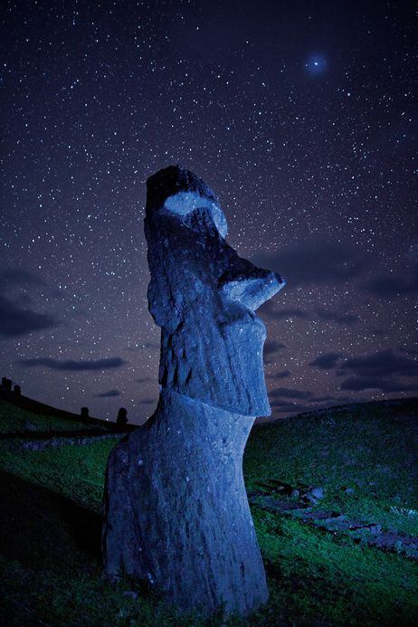 """The statues walked,"" Easter Islanders say. Archaeologists are still trying to figure out how."