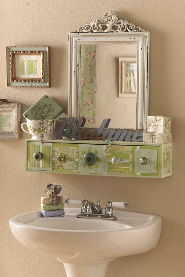 bathroom storage ideas Like this shelf