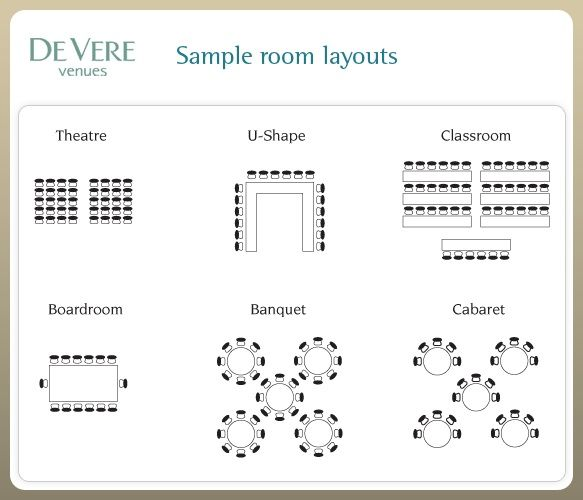 wedding ceremony seating layout template