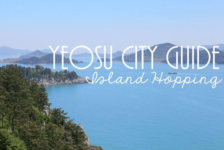 Yeosu City Guide - Island Hopping