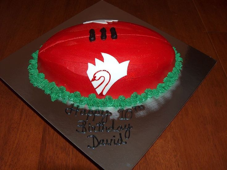 AFL swan birthday cake - Google Search
