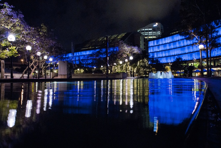 Luminous at Darling Quarter Designed by Ramus Illumination   World's largest permanent interactive light display.