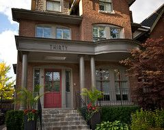 red brick exterior house colors siding google search